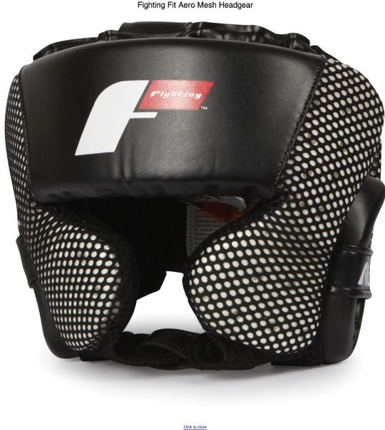 Fighting Sports Fit Aero Mesh Headgear