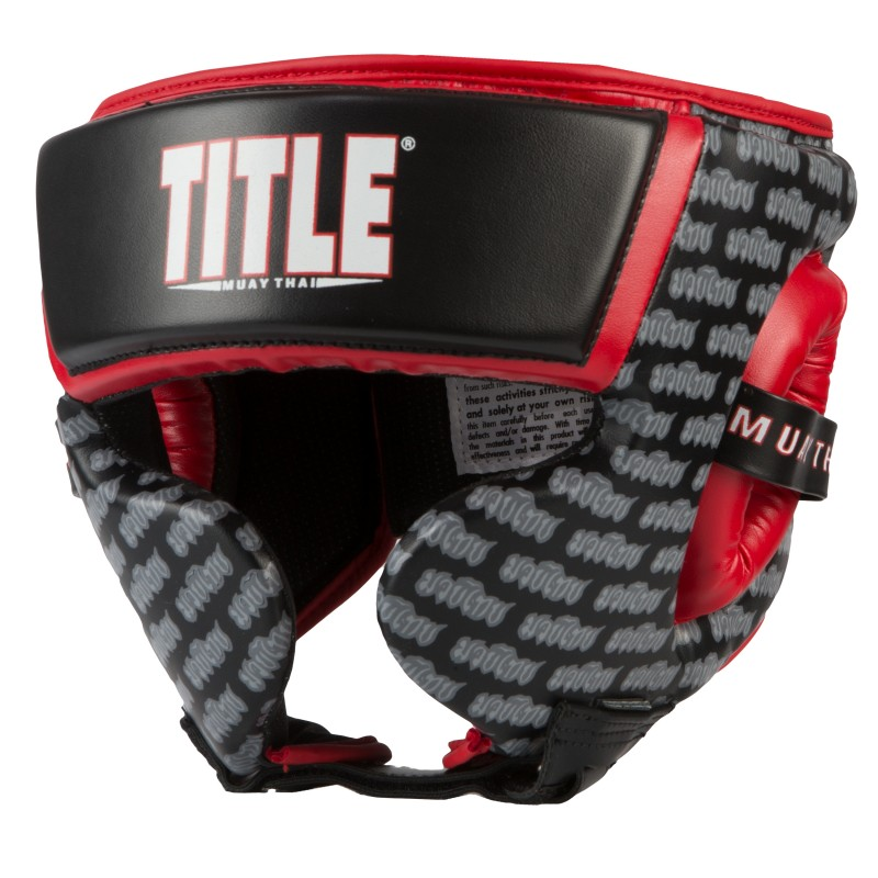 Шлем MUAY THAI TRAINING HEADGEAR (TITLE)