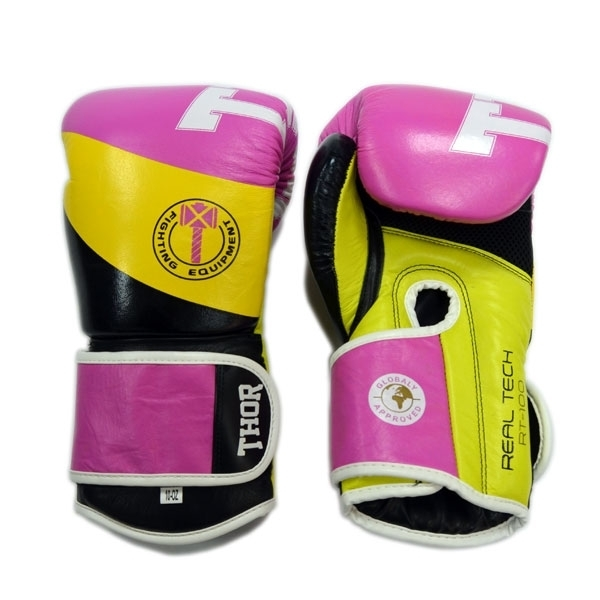 Перчатки THOR KING POWER BOXING GLOVES PU LEATHER